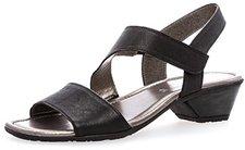 Gabor Damenschuhe 64.545.02 Damen Sandale, Sandalette mit Verbreiterter  Auftrittfläche Schwarz (Schwarz), ... da4e937ece