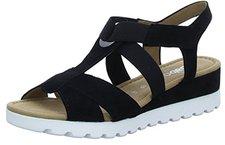 1af33b25e8760e Gabor Comfort Sport Sandalette in Übergrößen Schwarz 82.754.47 große  Damenschuhe