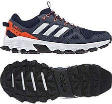 cheap for discount fed2e 51efe adidas Herren Rockadia Trail Laufschuhe, Mehrfarbig (TinleyFtwblaAzutra  0), ...