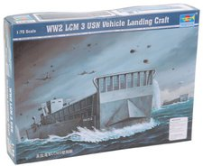 Trumpeter WWII LCM 3 USN Vehicle Landing Craft ...