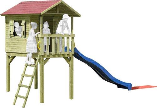 delta gartenholz kinder stelzenhaus benny g nstig kaufen. Black Bedroom Furniture Sets. Home Design Ideas
