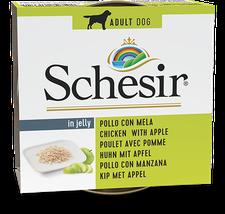Schesir Fruit Hundefutter Huhn mit Apfel (150 g)