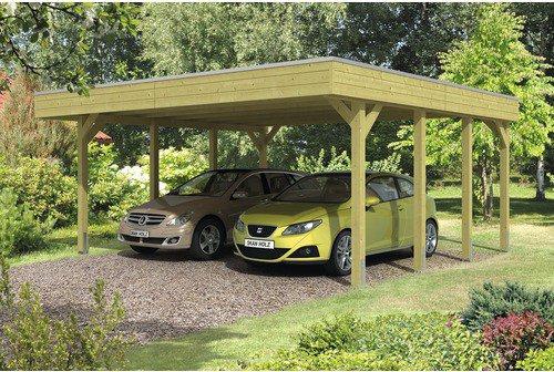 Skanholz 115er Profil Doppel Carport Gunstig Kaufen