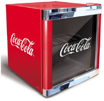 husky coca cola mini fridge preisvergleich ab 179 00. Black Bedroom Furniture Sets. Home Design Ideas