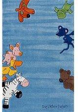 Kinderteppich die lieben sieben  Böing Carpet Teppich Die Lieben Sieben 110x170 cm Preisvergleich ...