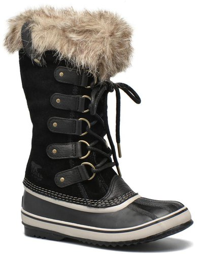 Sorel Joan Of Arctic Grau, Damen Winterstiefel, Größe EU 39 - Farbe Quarry-Black %SALE 30% Damen Winterstiefel, Quarry - Black, Größe 39 - Grau