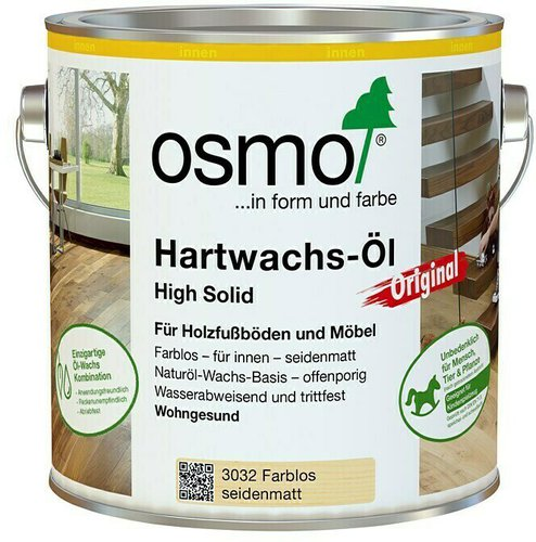 osmo hartwachs l 750ml diverse dekore preisvergleich ab. Black Bedroom Furniture Sets. Home Design Ideas