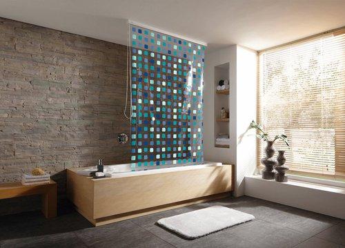 kleine wolke duschrollo mosaik preisvergleich ab 69 99. Black Bedroom Furniture Sets. Home Design Ideas