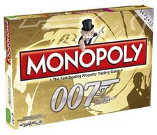 Winning Moves Monopoly James Bond Gold 007