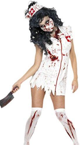 zombie krankenschwester halloween kost m g nstig kaufen. Black Bedroom Furniture Sets. Home Design Ideas