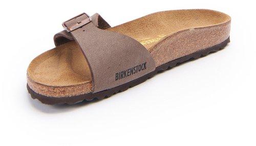 f192e230f11070 Birkenstock Madrid Birko Flor mocca günstig online kaufen✓