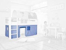 Etagenbett Vorhang Blau : Kinderbett vorhang thuka set hahle spielhahle zubehar