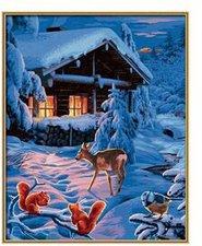 Schipper Malen nach Zahlen Romantische Winternacht