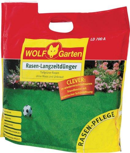 wolf garten rasen langzeitd nger 12 6 kg ld700a bei. Black Bedroom Furniture Sets. Home Design Ideas