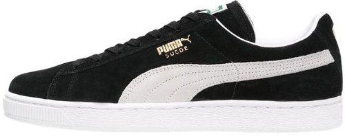 puma suede schwarz weiß