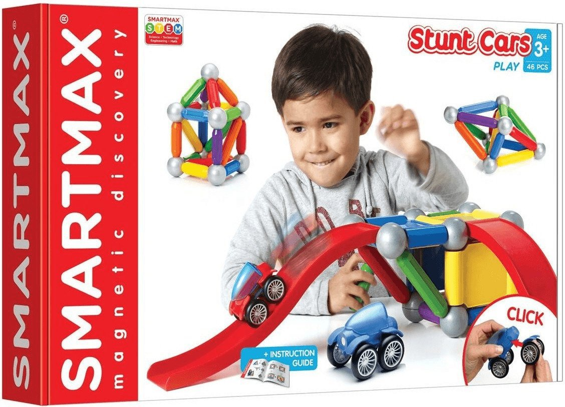 Bau- & Konstruktionsspielzeug-sets Magnetspiel Smartmax Start Plus 23-teilig Spielzeug