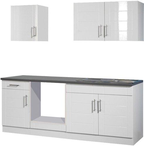 Held Möbel Nevada Küchenzeile (210 cm) Preisvergleich ab 537,29 €