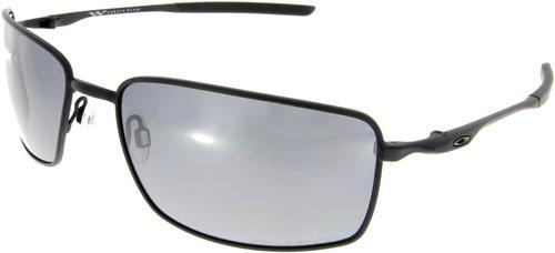 Oakley Sonnenbrille Sqaure Wire OO 4075 05 Gr. 60 in schwarz matt pol. YsMwF2CmG