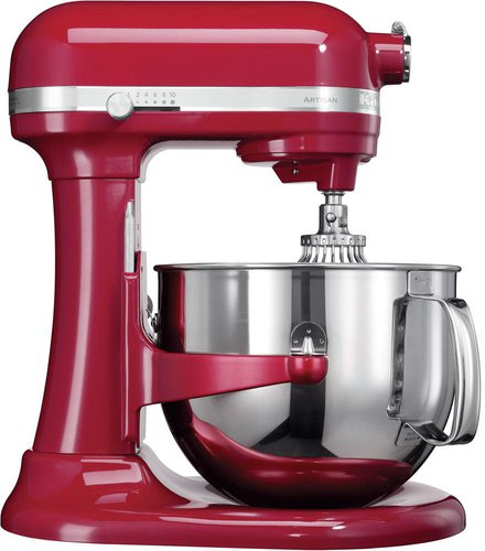 KitchenAid Artisan Küchenmaschine 1.3 HP Empire Rot 5KSM7580X EER ...