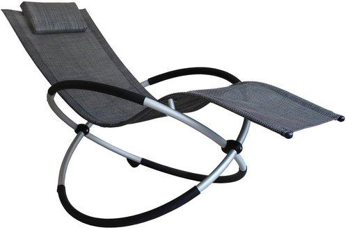 Leco schaukelstuhl schwarz ab 94 99 im preisvergleich kaufen for Schaukelstuhl ohne kufen