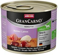 Animonda Petfood GranCarno Sensitiv Reines Lamm...