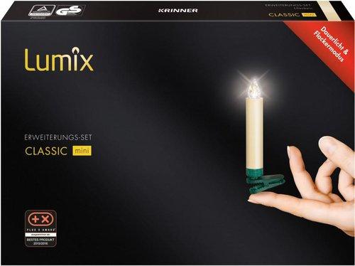 Krinner lumix classic mini erweiterungs set 6er elfenbein - Lumix classic mini ...