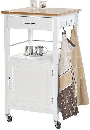 Küchenwagen kesper  Kesper Küchenwagen Bambusplatte 51x40x88cm Preisvergleich ab 78,28 €