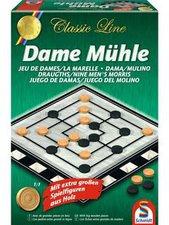 Schmidt Spiele Classic Line Dame und Mühle (49083)