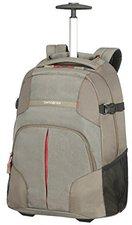 Samsonite Rewind Laptop Trolley Backpack taupe