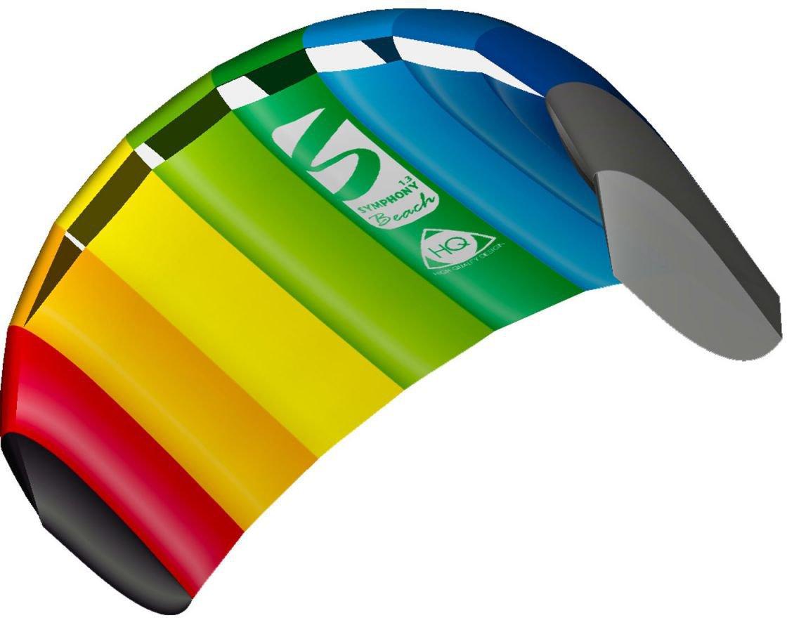 Powerkite Lenkdrachen Lenkmatte Trainer-Kite Drachen Sportdrachen