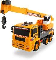 Kabel-Fernsteuerung links Dickie Spielzeug 203462412 rechts auf Mega Crane