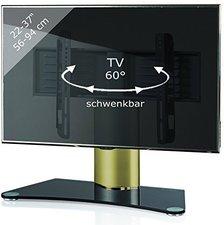 VCM Windoxa Mini Messing Gold Farben Schwarzglas