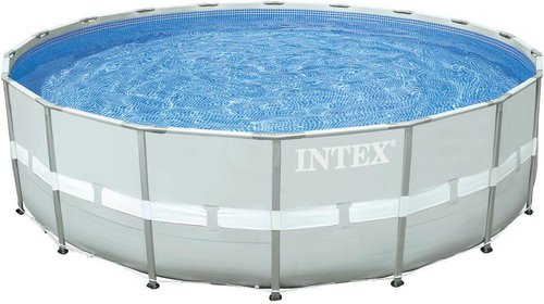 intex pools ultra frame pool 549 x 132 cm mit sandfilter. Black Bedroom Furniture Sets. Home Design Ideas