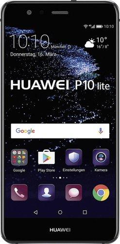 Huawei P10 Lite Schwarz Ohne Vertrag Günstig Bei Preisde Kaufen