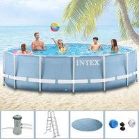 intex ultra frame pool rondo ii 549x132 cm online g nstig kaufen. Black Bedroom Furniture Sets. Home Design Ideas