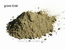 Volvox Pigmente grüne Erde 500 Gramm
