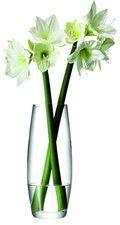 LSA international Vase für lange Blumen klar
