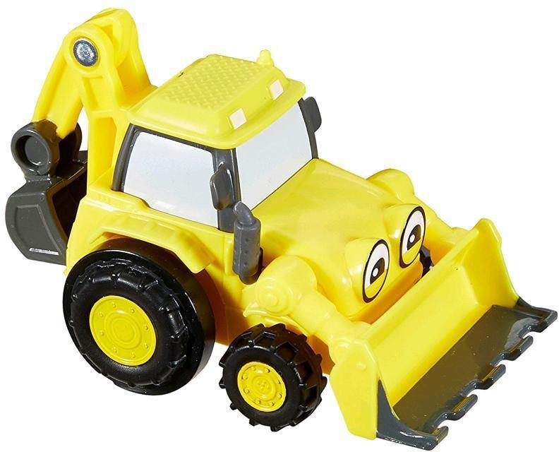 Action- & Spielfiguren Dickie Toys 203131000 Bob der Baumeister Baggi Spielzeugauto mit Freilauf und