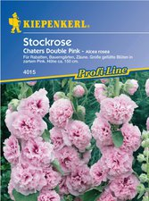 Kiepenkerl Stockrose ´´Chaters Double Pink´´
