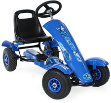 TecTake Go-Kart 1 Sitz blau