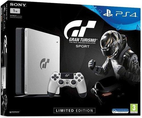 Sony Playstation 4 Ps4 Slim 1tb Gran Turismo Sport Limited