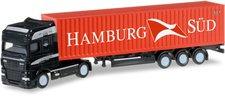 Herpa DAF XF SSC Container-Sattelzug Hamburg Sü...