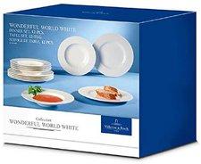 Villeroy & Boch Wonderful World White Set of Pl...