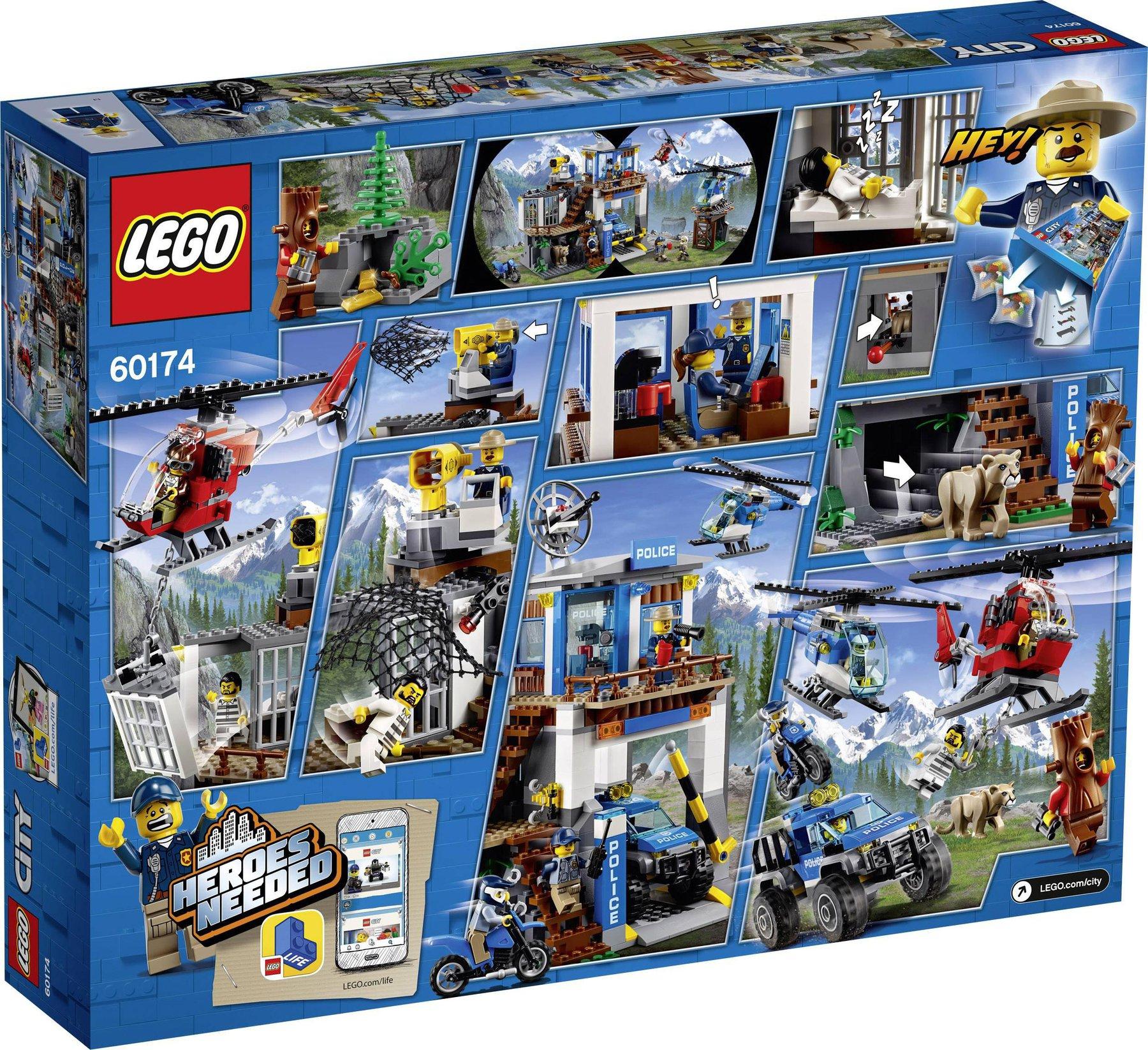 60174 LEGO City Hauptquartier der Bergpolizei günstig kaufen