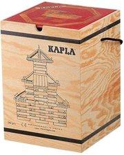 Kapla Kiste 280 mit Kunstbuch Rot