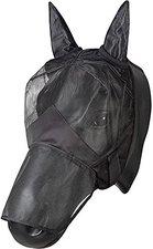 Pfiff Gesichtsmaske Reiten schwarz Pony