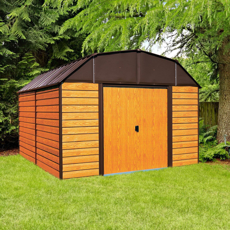 Arrow Freiburg Gerätehaus 305x405x224 Cm Günstig Kaufen