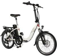 Elektrofahrräder in weiß Dieron Faltendes Elektrisches Fahrrad,Wasserdichtes 250W 36V E-Bike