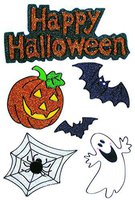 Halloween sarg g nstig ab 45 01 online bestellen - Halloween fensterbilder ...