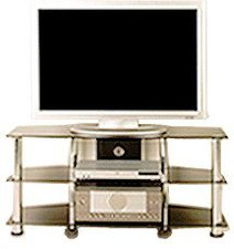 Movit Design TV-Rack in Schwarzglas-Optik (6616)